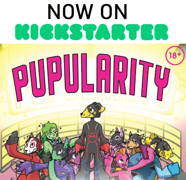 now on kickstarter